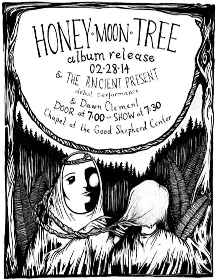 HoneyMoonTreePoster 8.5x11 large